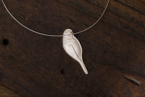 Bird 鳥 金工手工純銀墜飾項圈 925Silver pendant/necklace