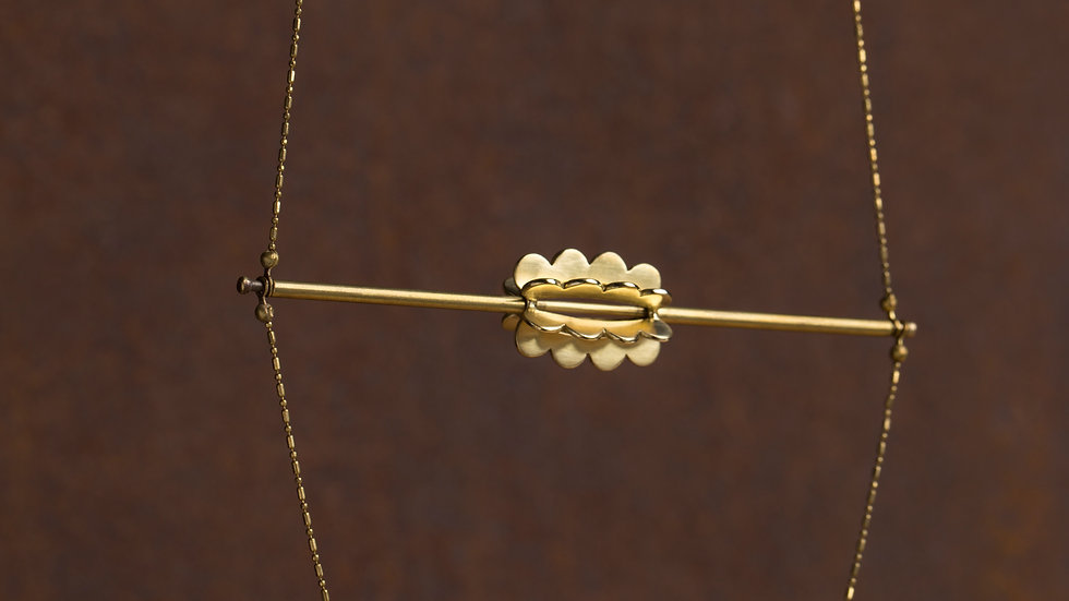 Upset / Upturn 鬍子小姐 轉 垂墜長項鍊 Draped Long Necklace