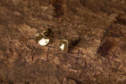 Cheeky 厚臉皮 手工黃銅耳環 Brass Earstuds