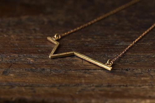 Beats 悸 黃銅項鍊 池之悸 Brass Pond Necklace