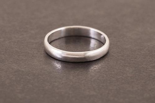 經典甜圈圓面戒指 Donut Ring