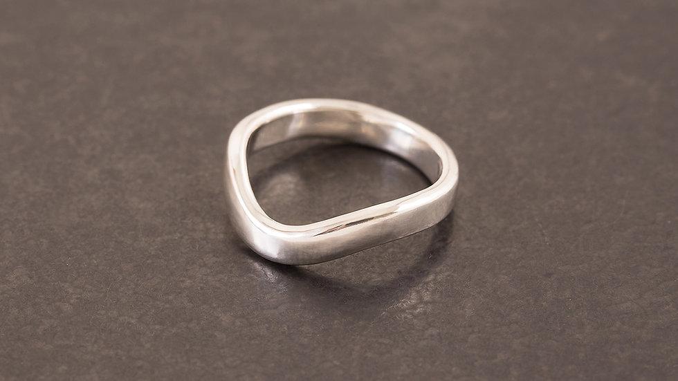 微風 純銀戒指  Breeze Ring