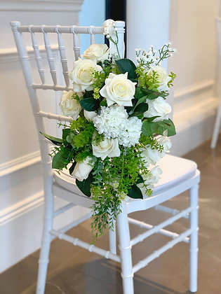 Ceremony and Church Pew Flowers