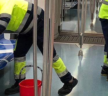 Spanske myndigheter bruker Ozon til å desinfisere offentlig transport i Barcelona