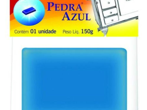 PEDRA P/POLIR FOGAO 150GR PEDRA AZUL