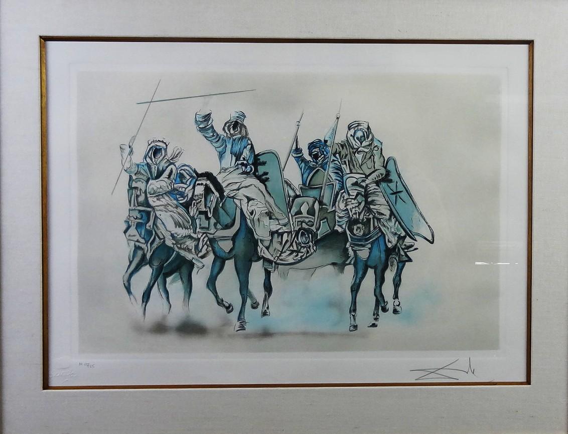 Salvador Dalí litografia