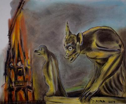Las Gargolas de Notre Dame