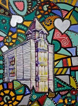 Victorian Church San Francisco.