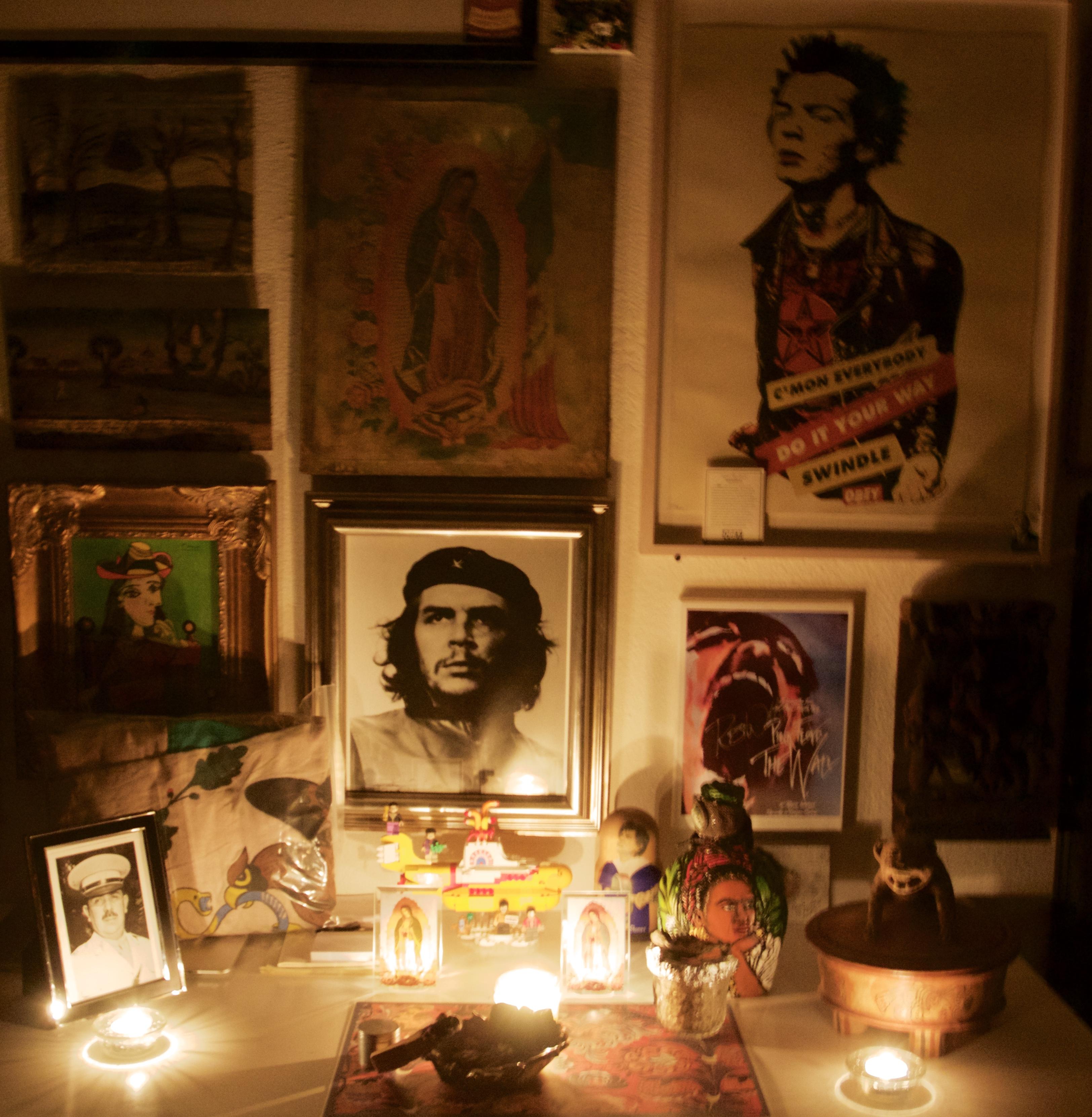 Altar donde rezo.