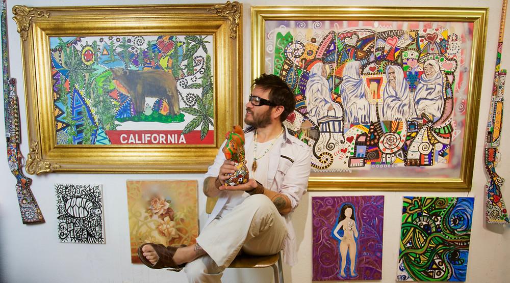 ¡Compra Arte! Compra de artistas vivos! Artistas vivos encienden la imaginación que lleva al cambio.