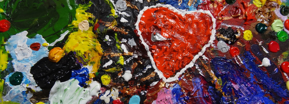Love Expression 4. Mixed Media on Canvas.