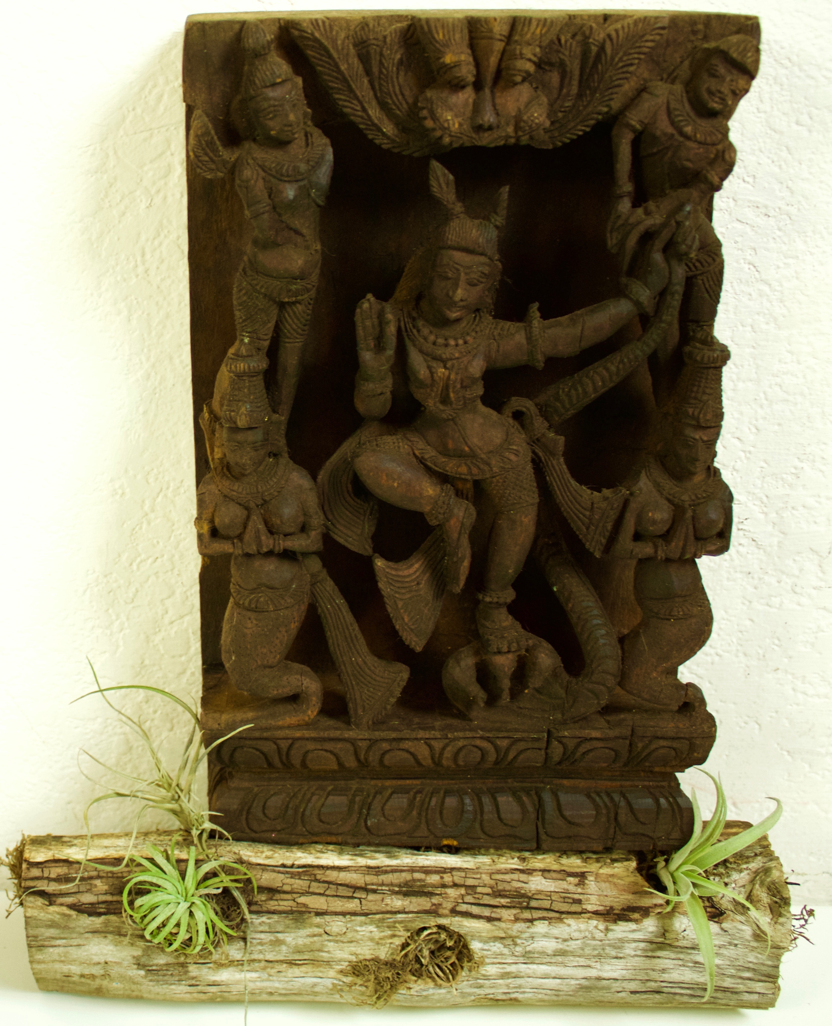 Avatar Krishna South India Wood 19th Cen
