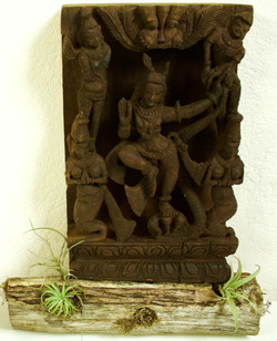 Avatar Krishna South India Wood 19th Cen