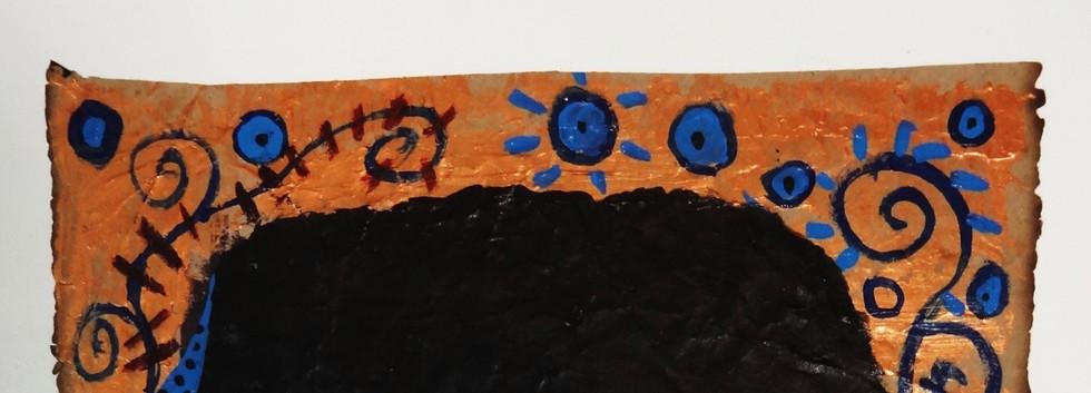 Jimi Hendrix. Acrylic on Paper.