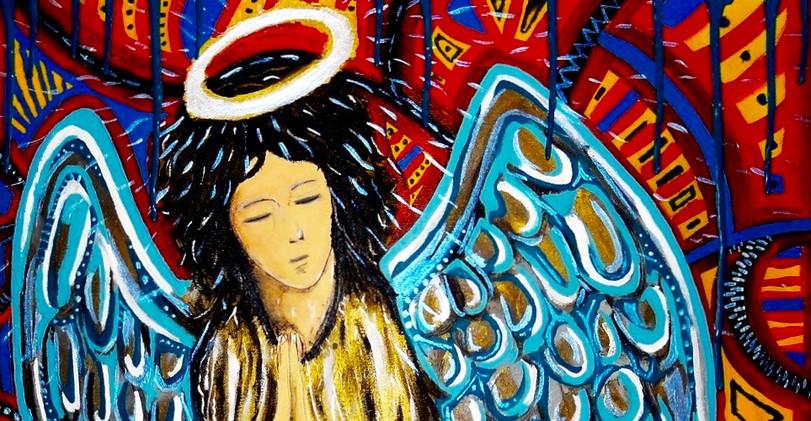Jim Morrison Spirit. Acrylic on Canvas.