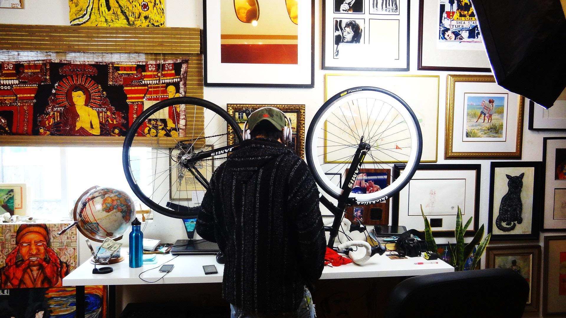 Painting Bike 2015