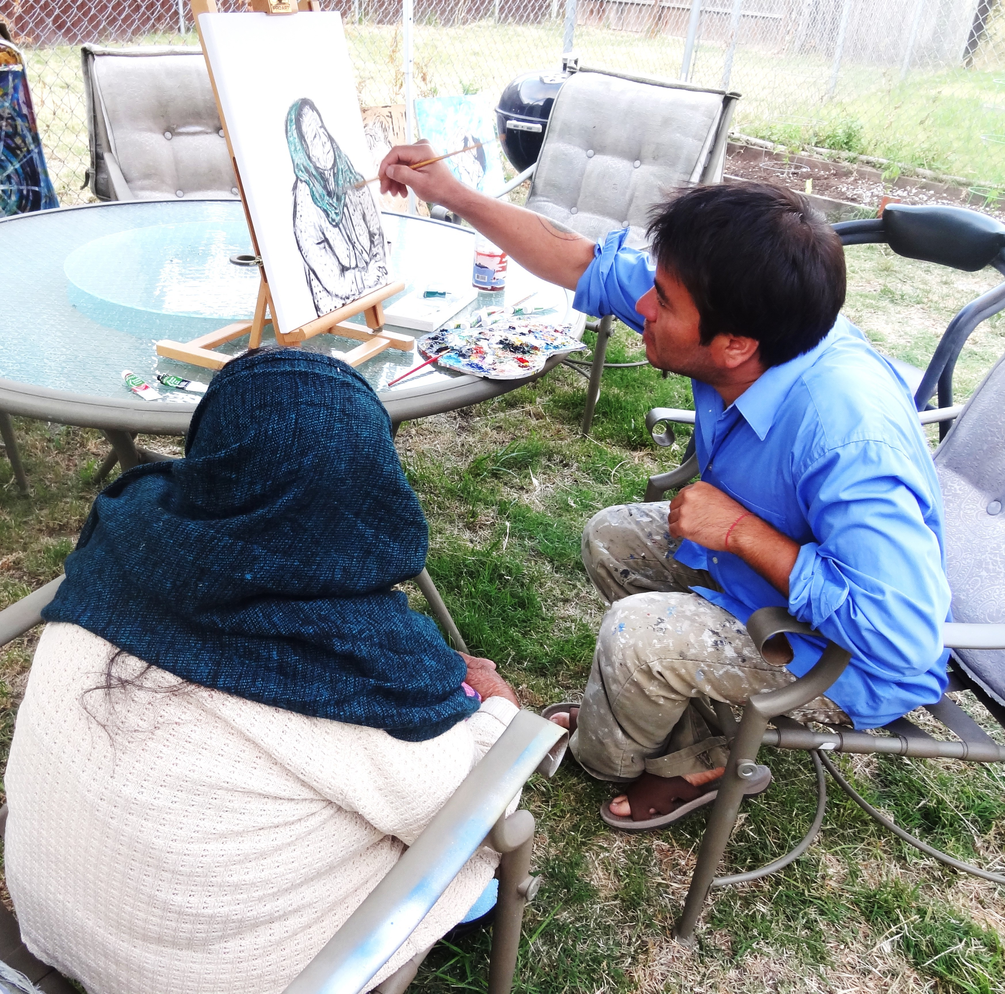 Abue painting