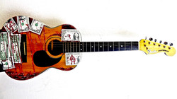 Guitar with Cash