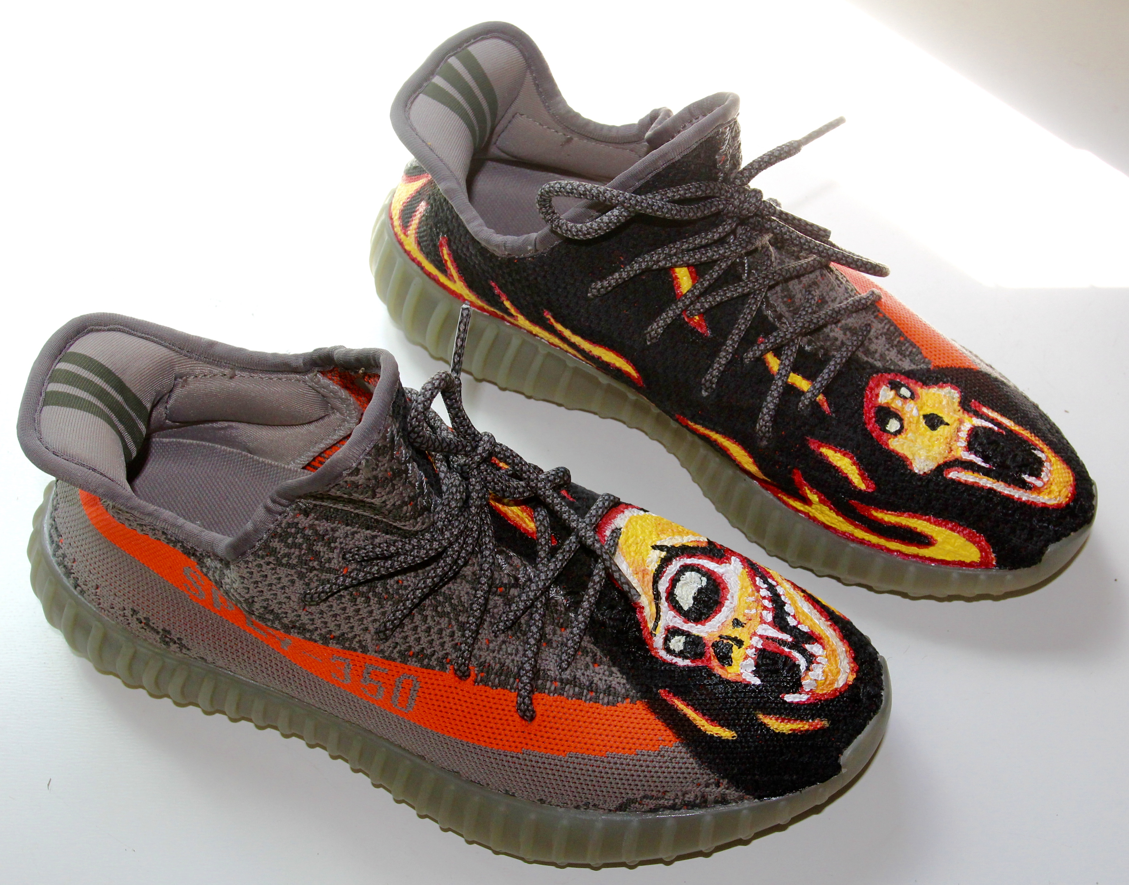 Hand painted Adidas Yeezy!