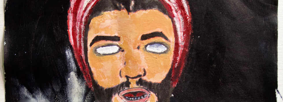 Brujo Self Portrait.