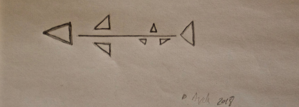 Tiburon 1. Pencil on Paper.