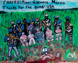 Women raped and murdered by the Narco