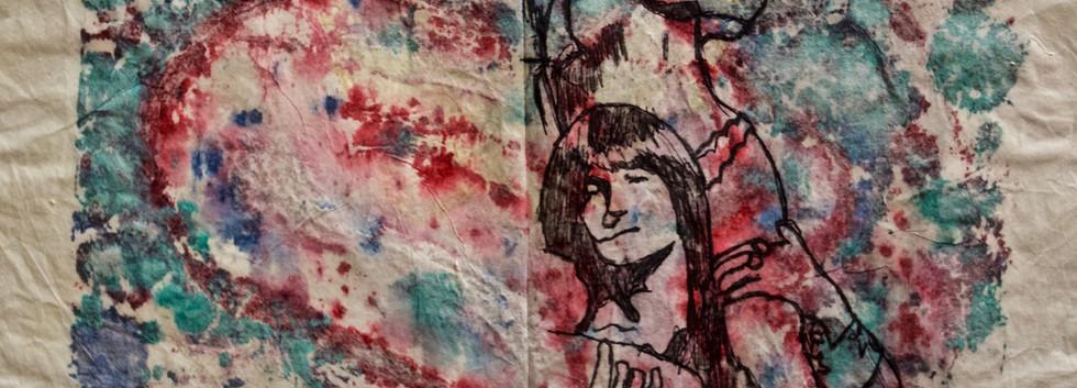 Brian Jones. Ink on Paper.