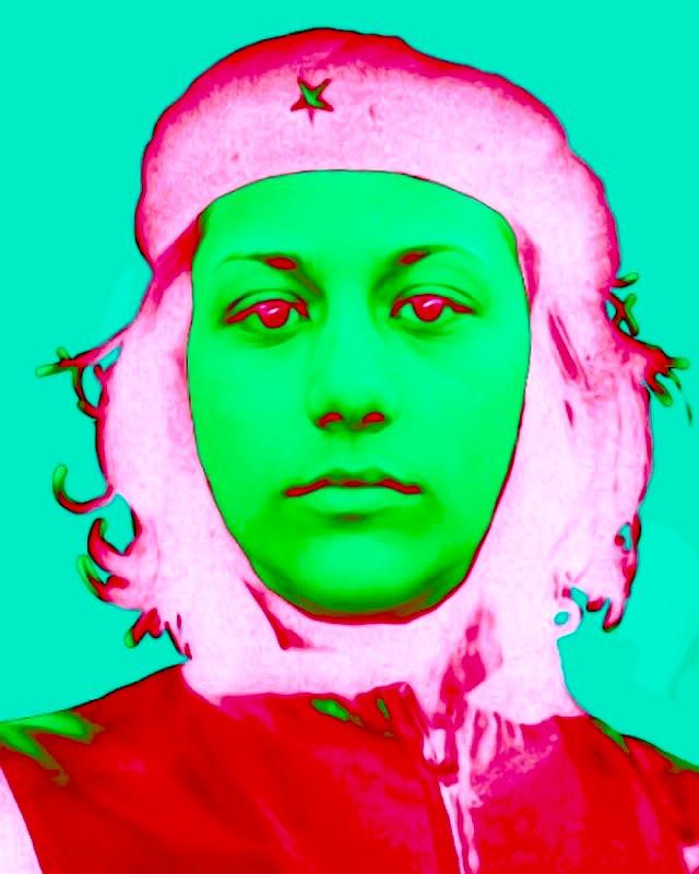 Emma Guevara Digital Collage.