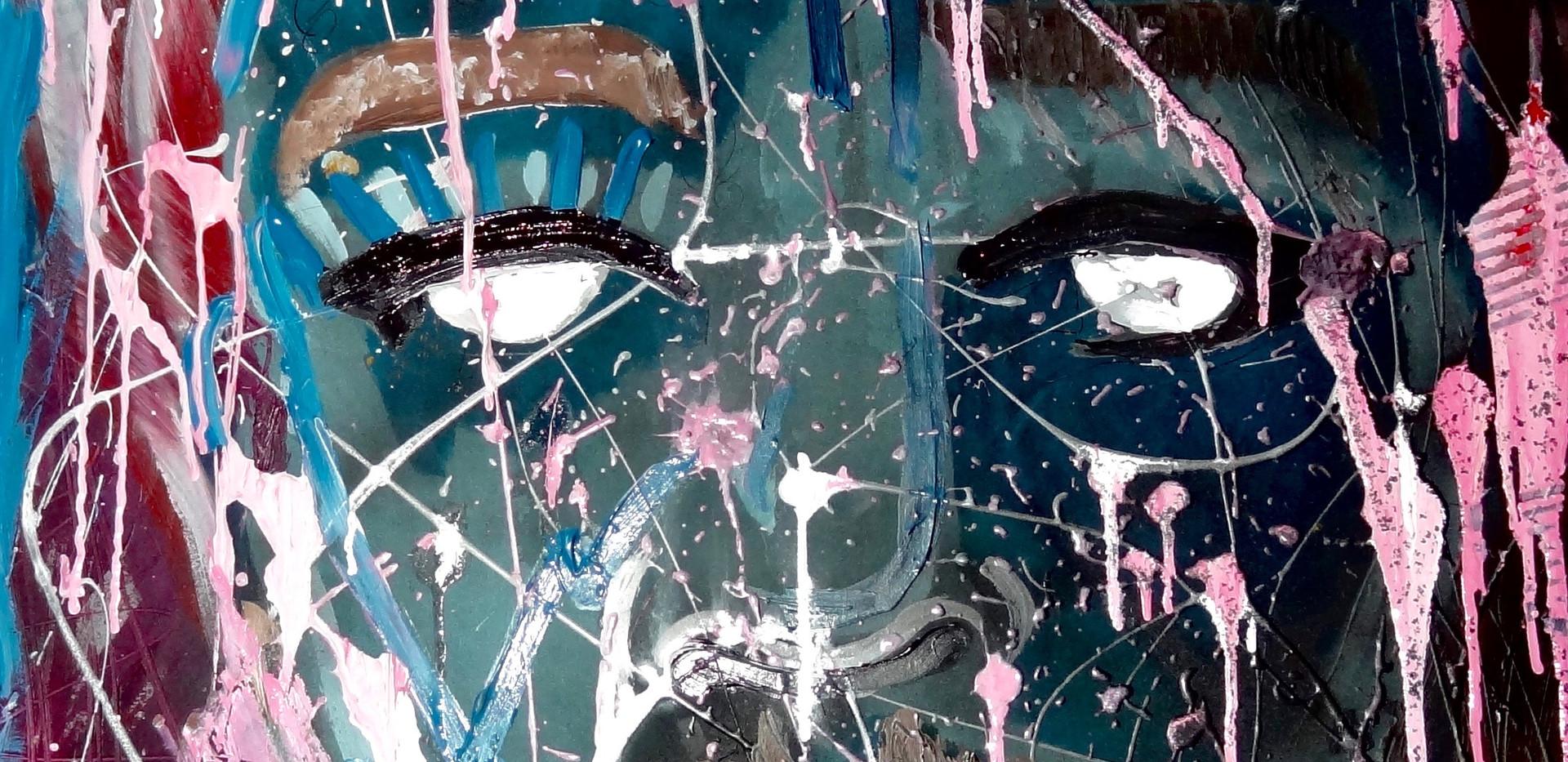 Expressionist Portrait.