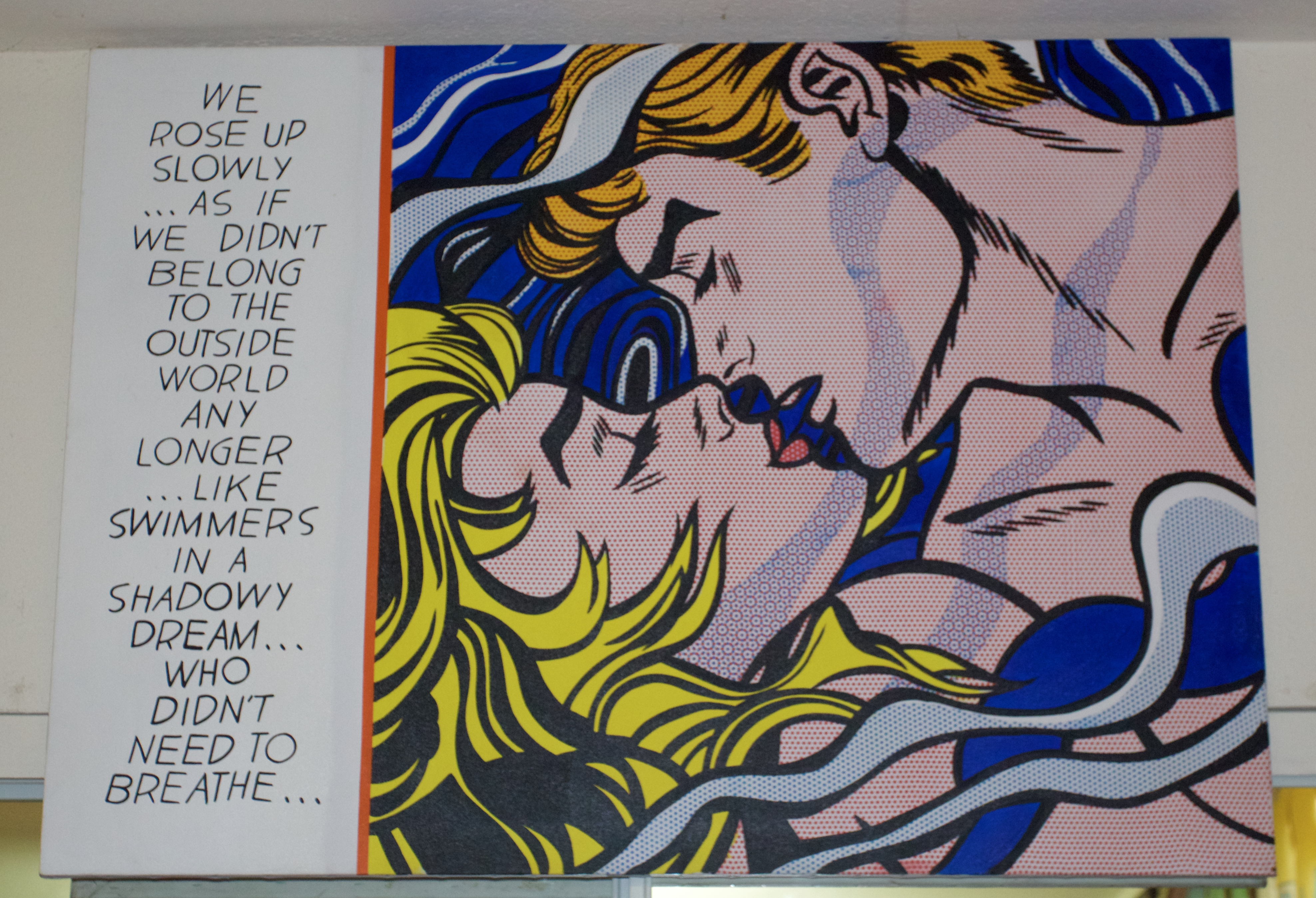 Roy Lichtenstein in the house