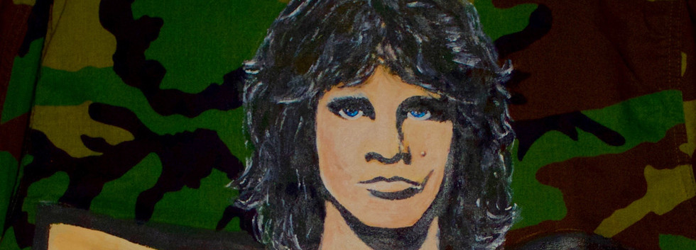 Jim Morrison Detail on Jacket.