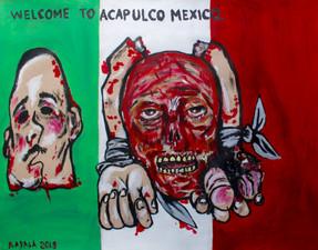 Narco violence in Guerrero Mexico