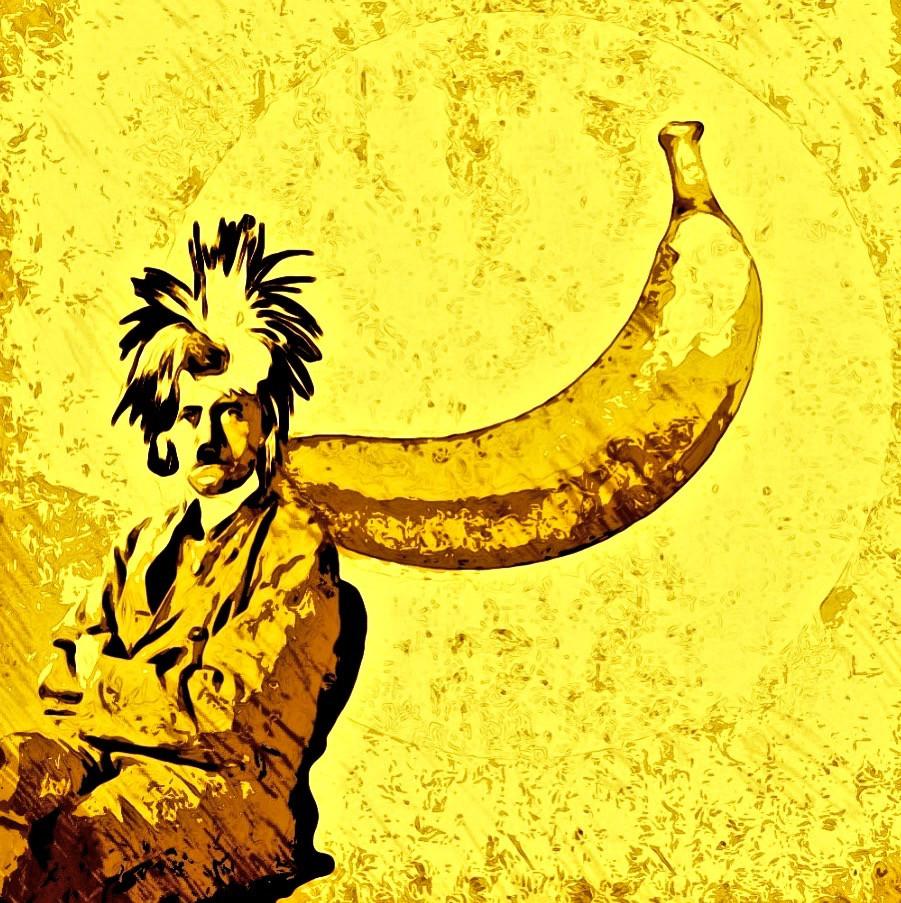 Warhol-Hitler Digital Collage Art.
