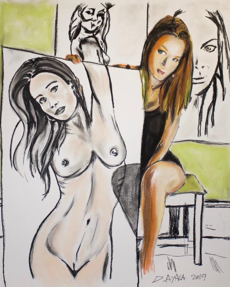 Kristin Meyer portrait artist.