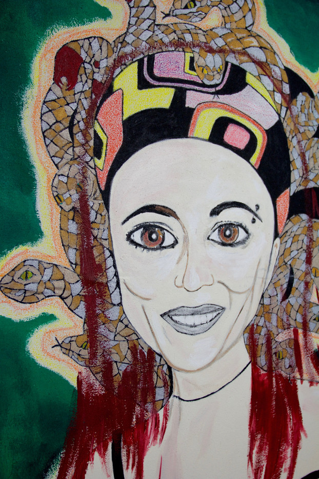 Mariela Medusa Detail.