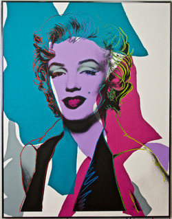 Andy Warhol screen print signed