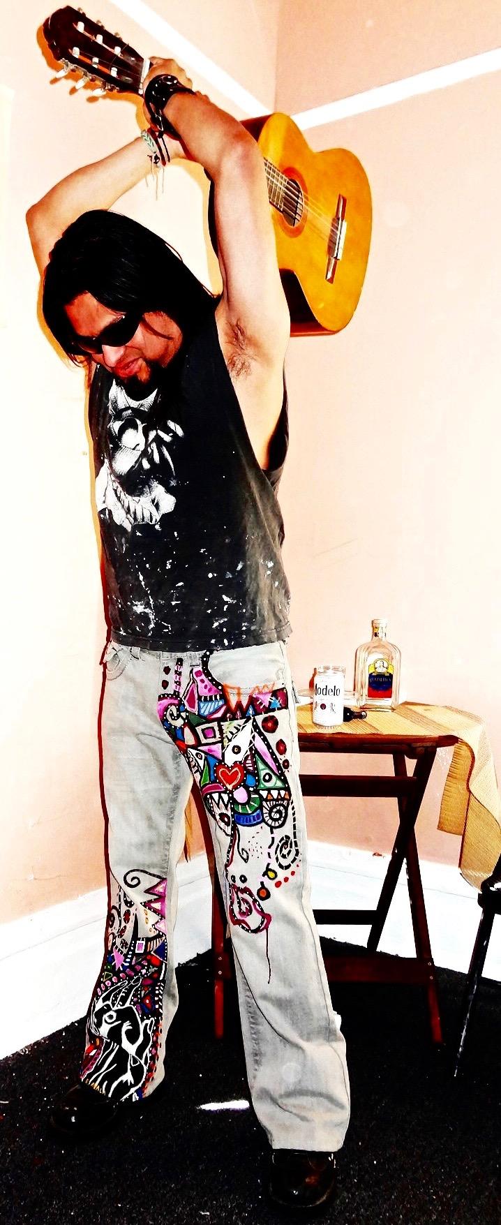 Jimi Hendrix Pants
