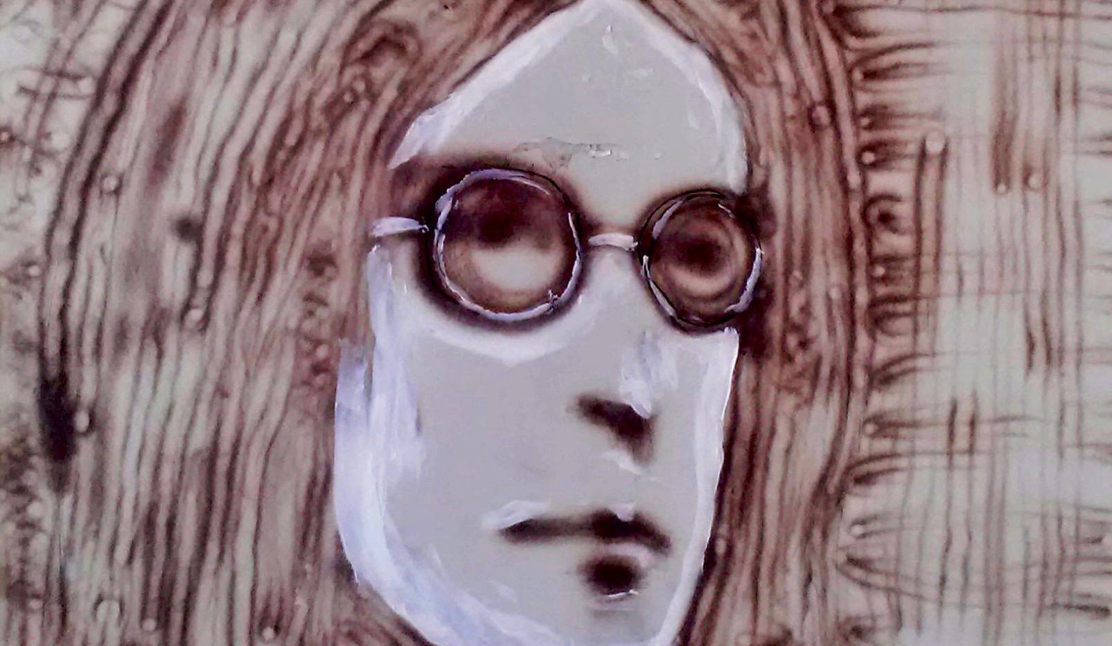 John Lennon. Fire on Drywall.