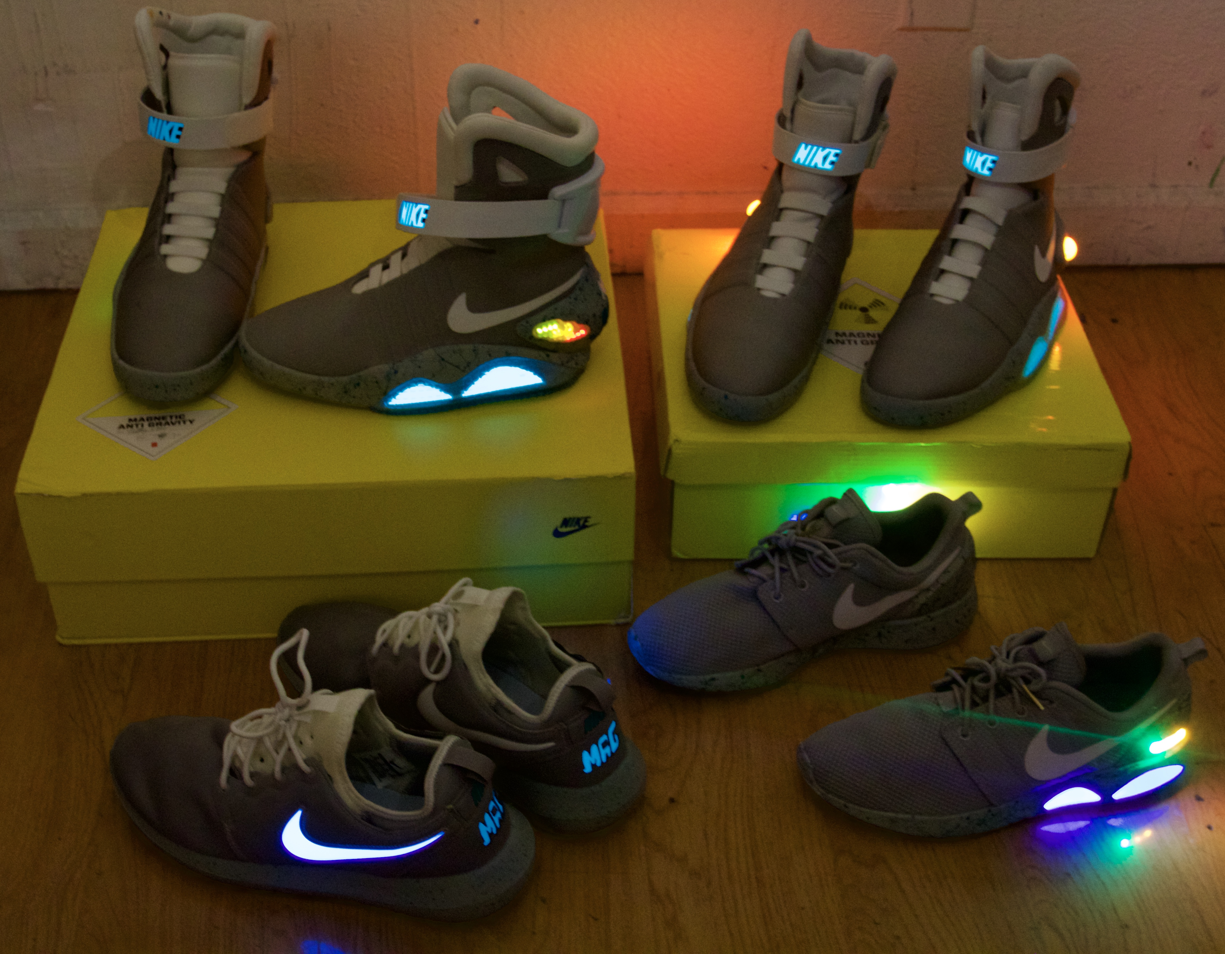 The Nike MAG Collection