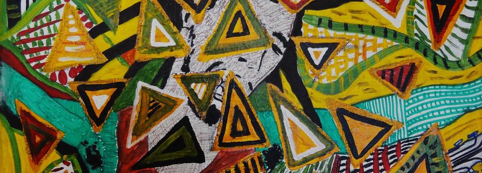 Bob Marley. Acrylic on Canvas.