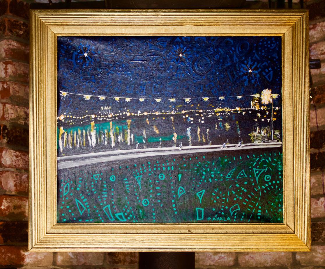 Noche Estrellada at Lake Merrit Oakland