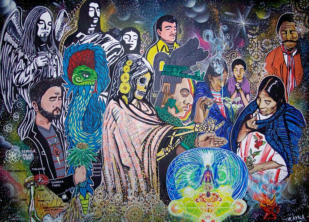 """El estudio del espiritu"" "" Shamanismo"" ""Iluminacion carnal""Danny Ayala 2020"