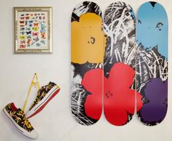 Warhol skateboard