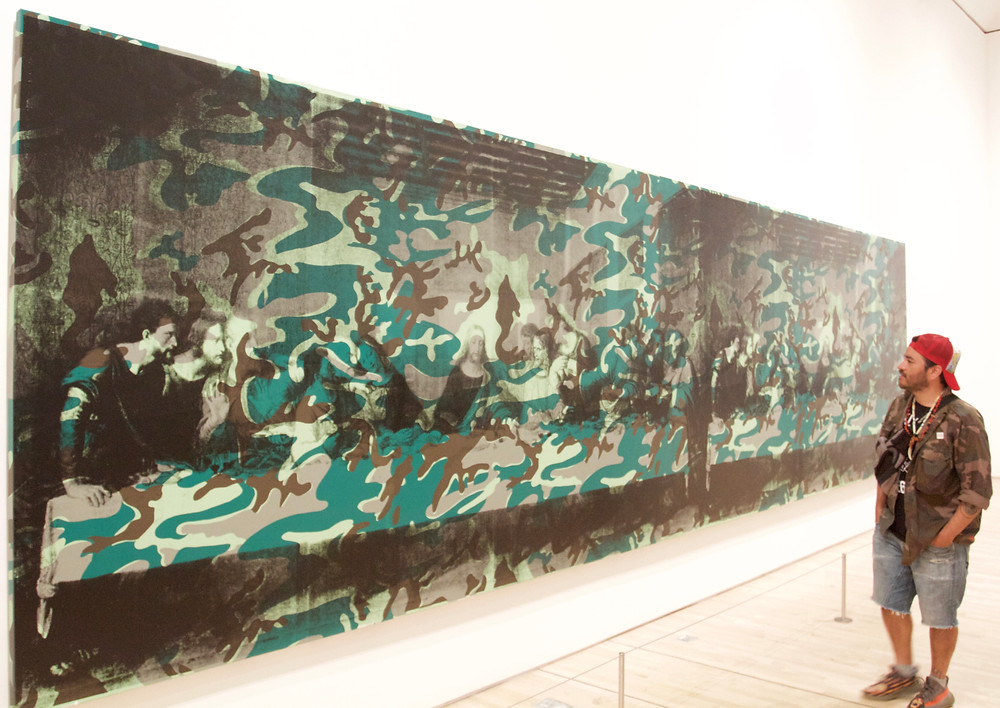 """Andy Warhol """" Last Supper """" SF MoMa"""