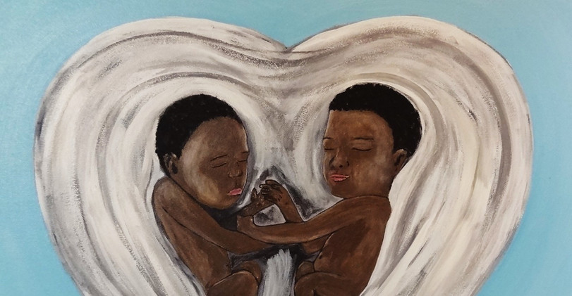 Black Lives Matter. Acrylic on Canvas.