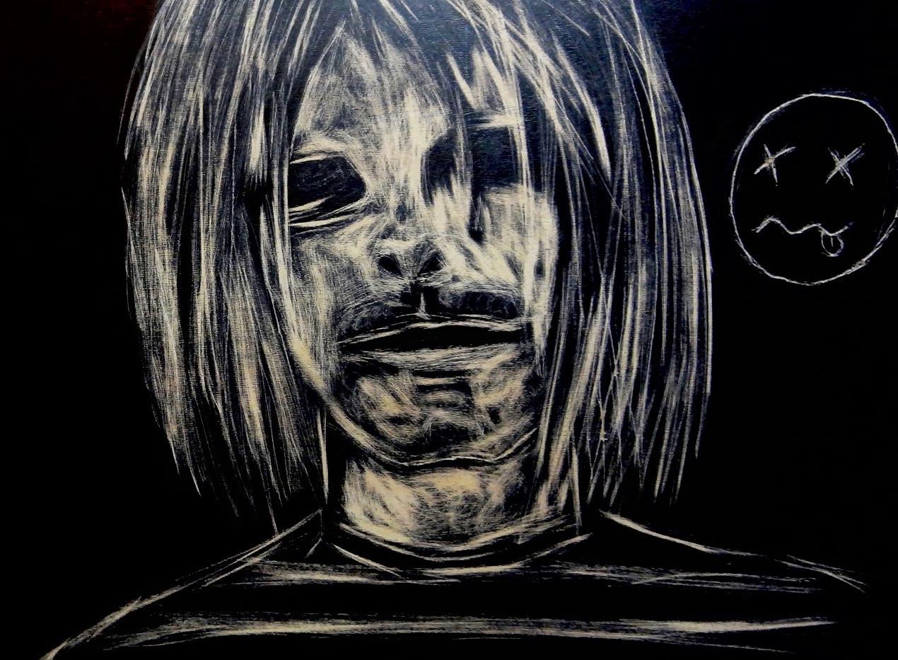 Kurt Cobain. Craving Wood.