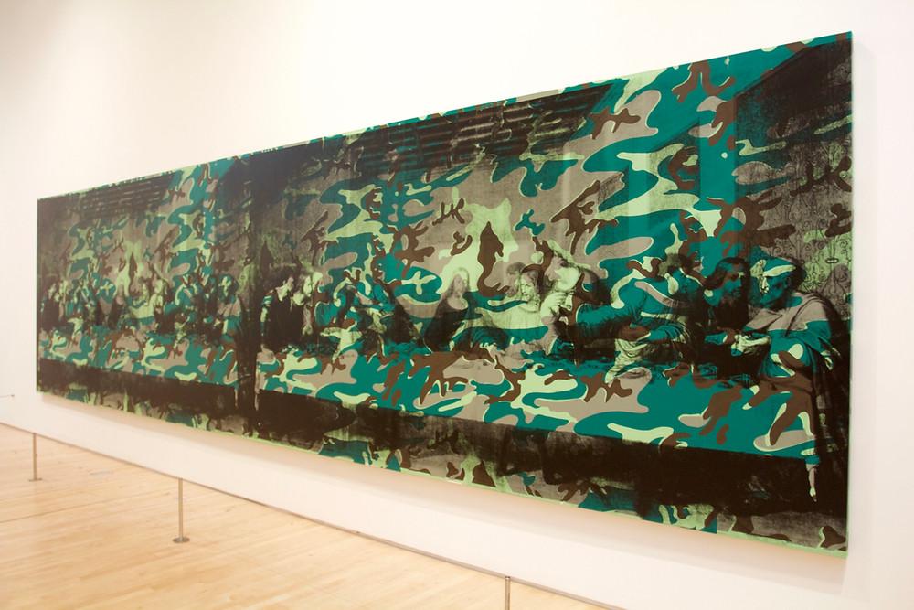 La Ultima Cena de Andy Warhol en el museo MoMa de San Francisco