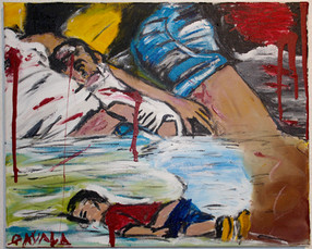 Kids victims of war