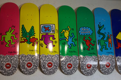 Keith Haring collection decks