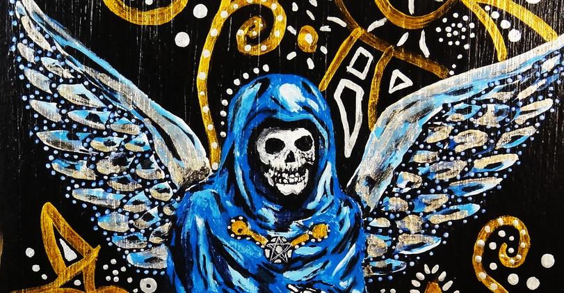 La Santisima. Acrylic on Canvas.